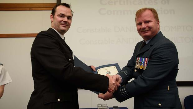 Police Constable Andrew Hamilton. Photo: Steve Smailes for The Lincolnite