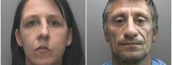 Police are looking for the family (pictured) who have been reported missing.