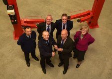 The keys to the new centre were officially handed over from contractors Lindum on December 21.  (L-R) Richard Shaw - Contracts Manager Lindum BMS, Adam Booth - Site Manager, Howard Gee - Chairman of Priory Federation of Academies Trust, Rob Reeve - Director of Operations Priory Federation of Academies Trust  Tim Bradshaw   Shiela Bradshaw