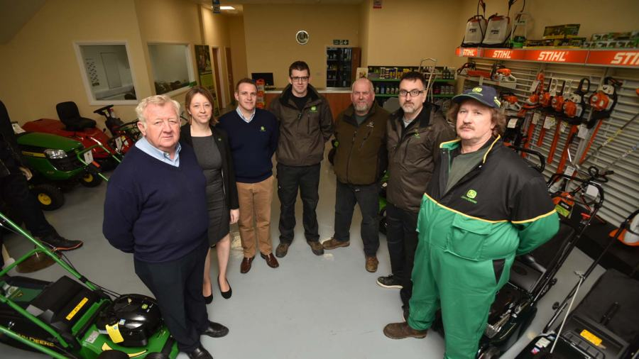 The F G Adamson & Son team in their new Langworth site. Photo: Steve Smailes
