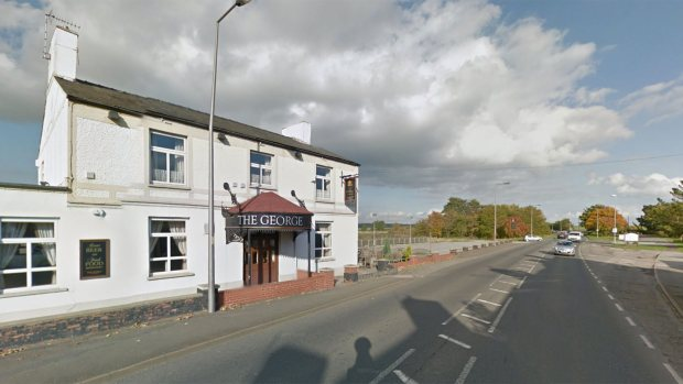 The George pub in Langworth. Photo: Google Street View