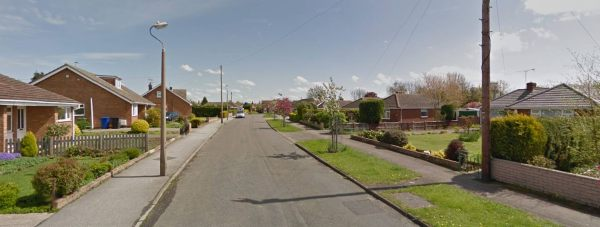 Torksey Avenue in Saxilby. Photo: Google Street View