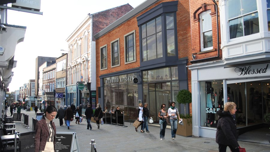 The Wildwood chain is taking over the former Mall on Lincoln High Street.