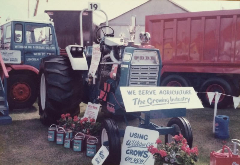 Witham Oil and Grease at the Lincolnshire Show in the 1970s