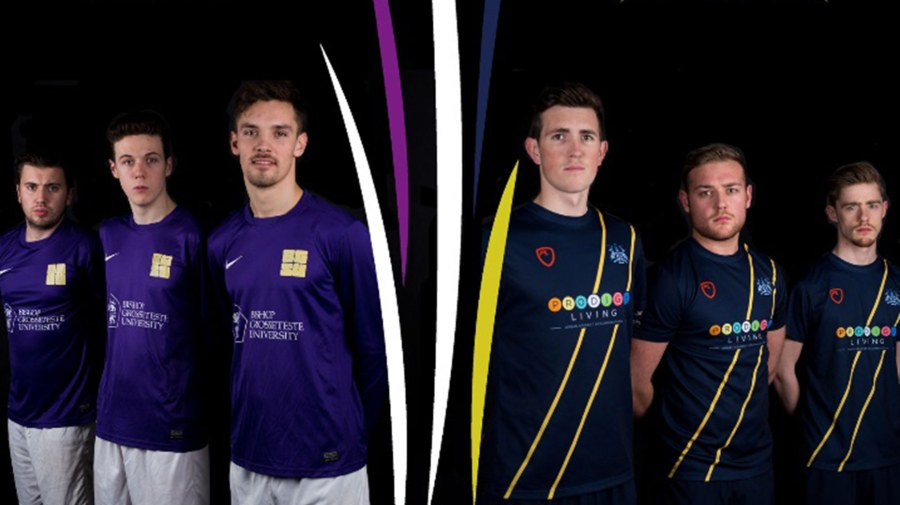 The first Cathedral Cup will see University of Lincoln and Bishop Grosseteste University football teams clashing for the first time.