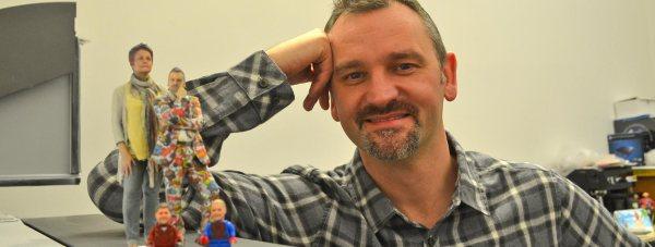 Chris Lightfoot, founder of Funky3DFaces.com