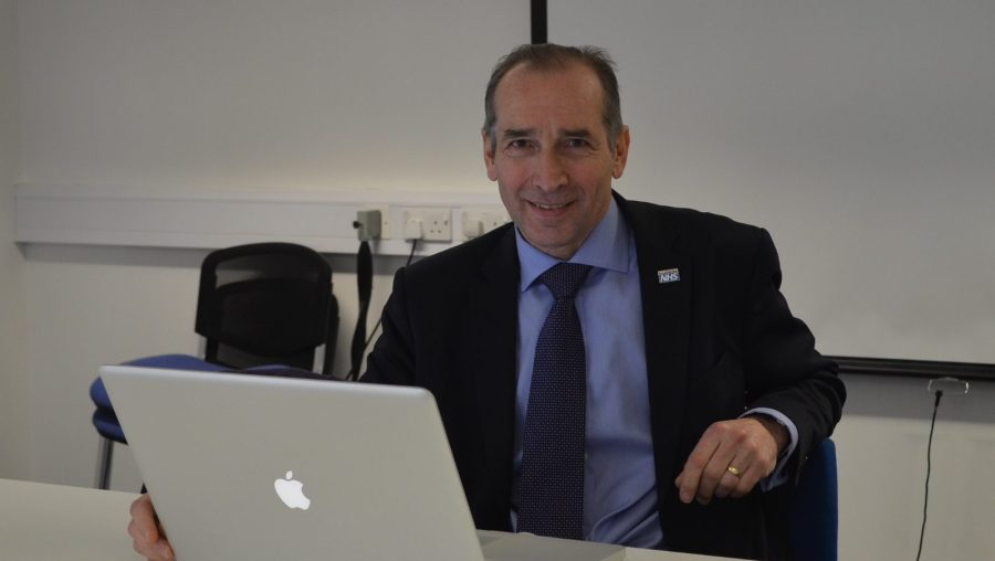 Jan Sobieraj, the chief executive of United Lincolnshire Hospitals NHS Trust