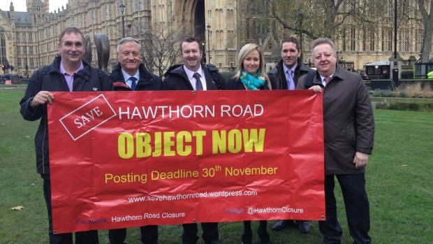Photo: Save Hawthorn Road