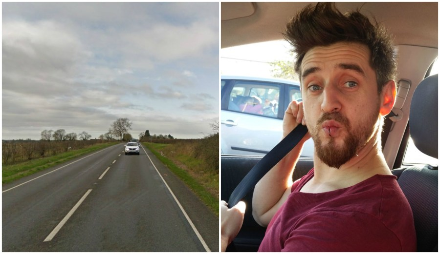 John Gilchrist was killed in the crash in Wragby near Lincoln.