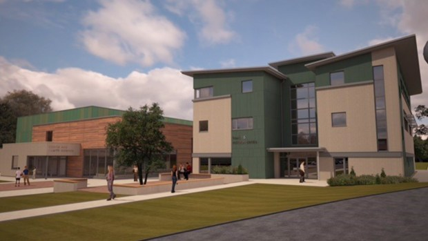 Sports and Health Science Centre and Health and Nutrition Centre. Photo: Bishop Burton College