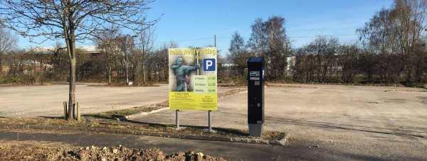 The new discount car park off Tritton Road. Photo: The Lincolnite