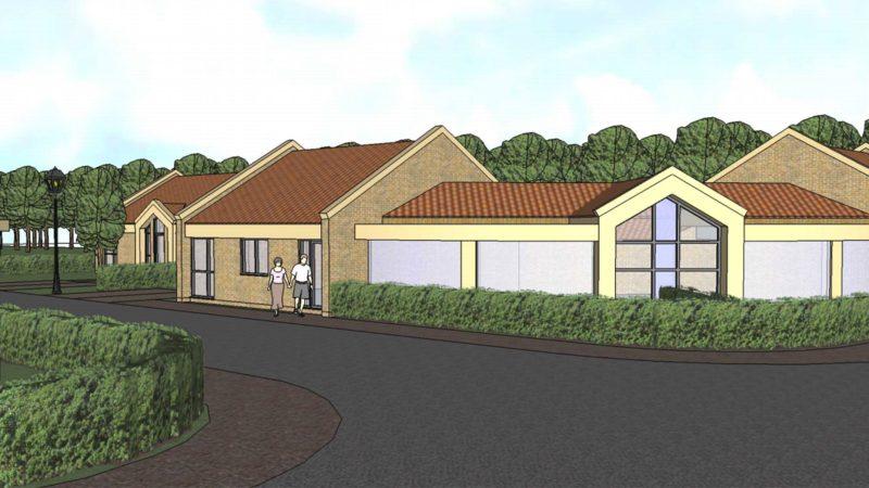 Plans for the bungalows. Photo: John Halton Design Ltd