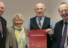 Publication Draft Local Plan launched by Councillor Colin Davie, Councillor Mrs Pat Woodman, Councillor Jeff Summers and Councillor Ric Metcalfe