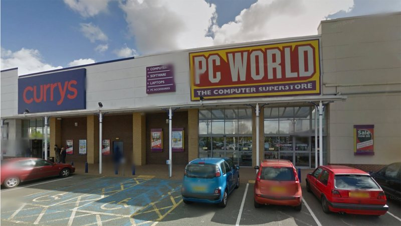 Home Bargains would be based in PC World if planning permission is approved. Photo: Google Street View