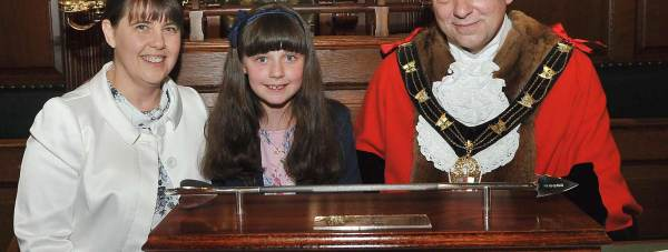 Grace Mathews, 10 has raised thousands for local charities.