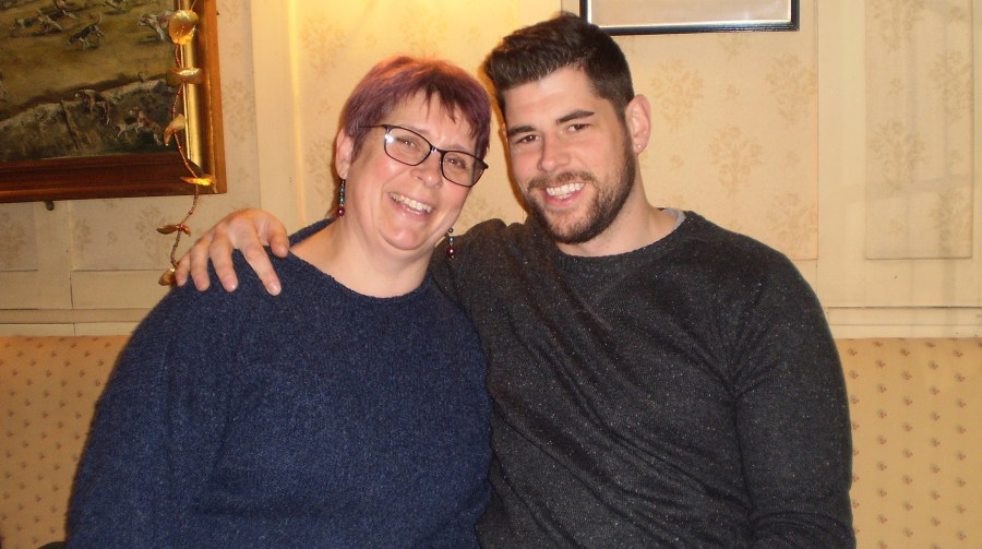 Jane paid tribute to her son Michael Beard, who was tragically killed in a crash with a bus in Lincoln.