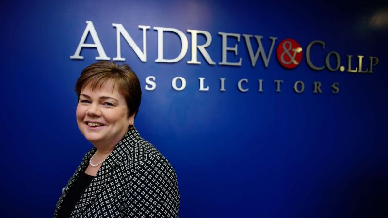 Julie Bailey, Chair of Andrew & Co LLP. Photo: Steve Smailes