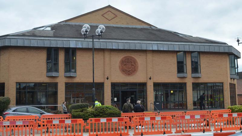 Lincoln Magistrates Court, where the first hearing took place.