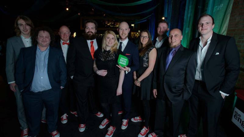 Laser Red were the winners of Best Website Design
