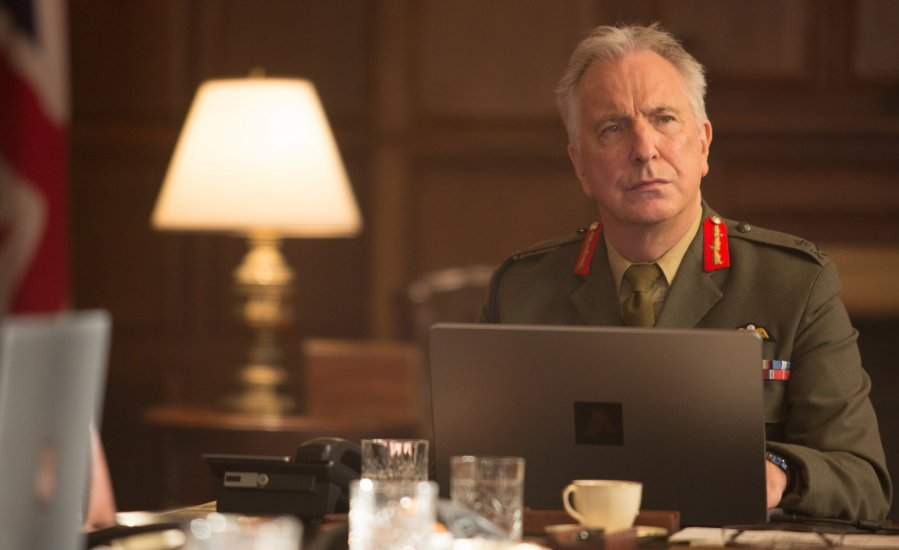 Alan Rickman in Eye in the Sky. Photo by Keith Bernstein.