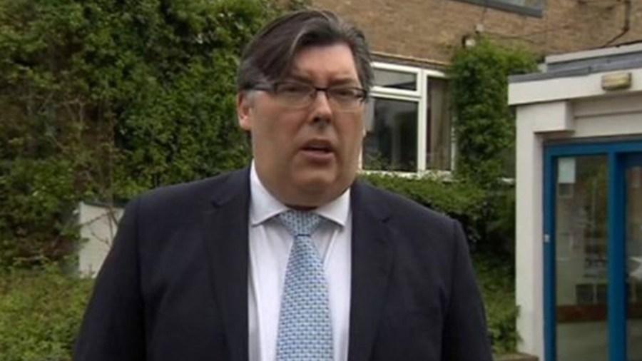 Sean Hanson from Serco. Photo: BBC Lincolnshire