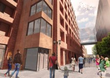 Lincoln City Council have approved plans for the new building Artist impressions: Stem Architects