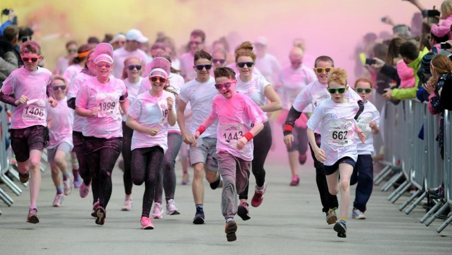 The Colour Dash will be on Saturday 14 May