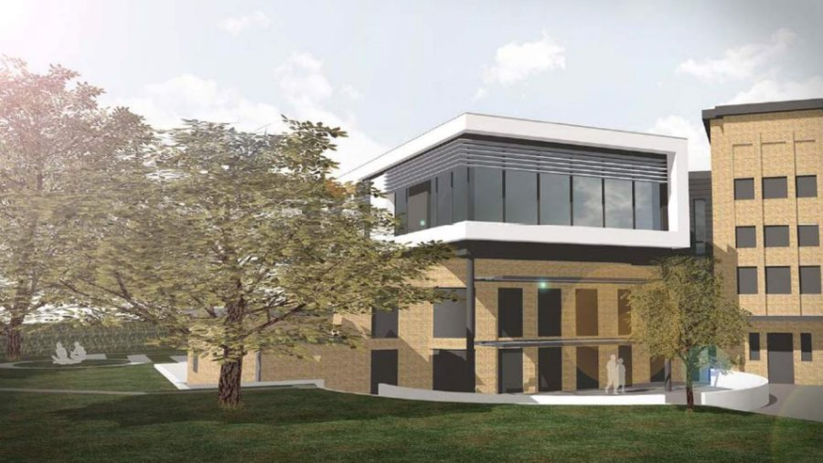 Bishop Grosseteste University have submitted plans for the expansion of one of the teaching blocks Photo: Artist Impressions - LK2