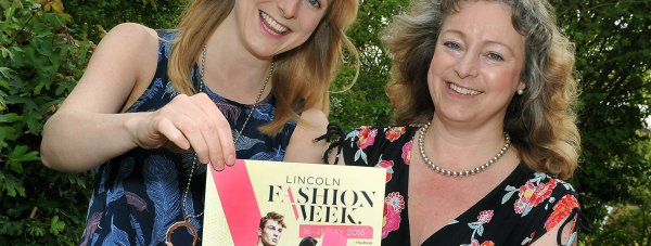 Harriet and her mum Toni will be modelling in the first Lincoln Fashion Week.