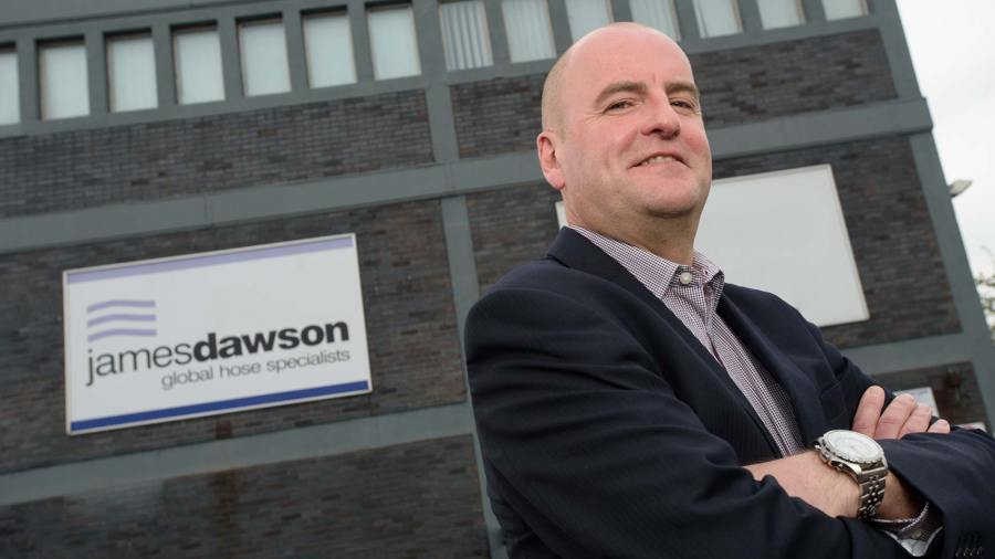 Paul Edwards, Managing Director of James Dawson & Son. Photo Steve Smailes