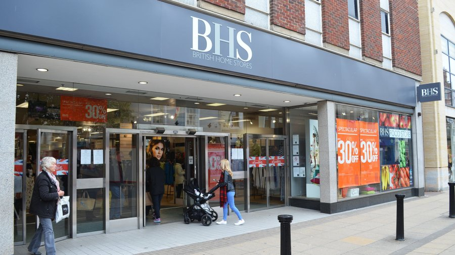 BHS on Lincoln High Street. Photo: The Lincolnite