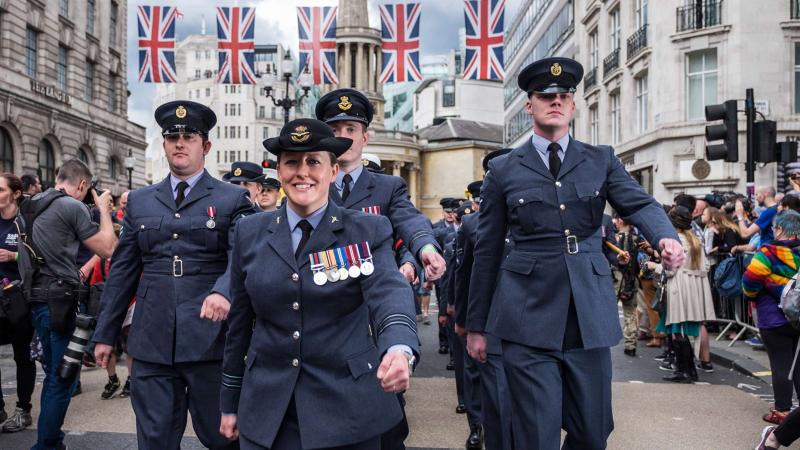 Photo: Sergeant Rupert Frere RLC