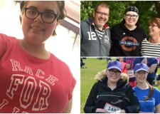 Brave Natasha will be leading the Race for Life 'pink army'