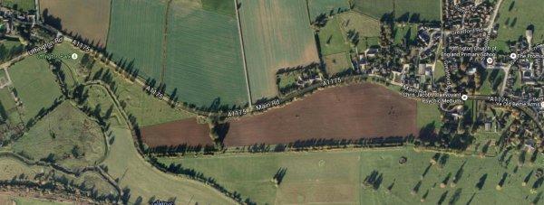 The fatal crash happened on the A1175 at Uffington.