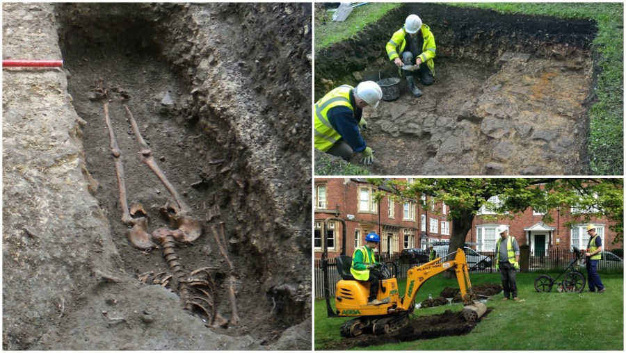 Lincoln Cathedral Connected dig Collage