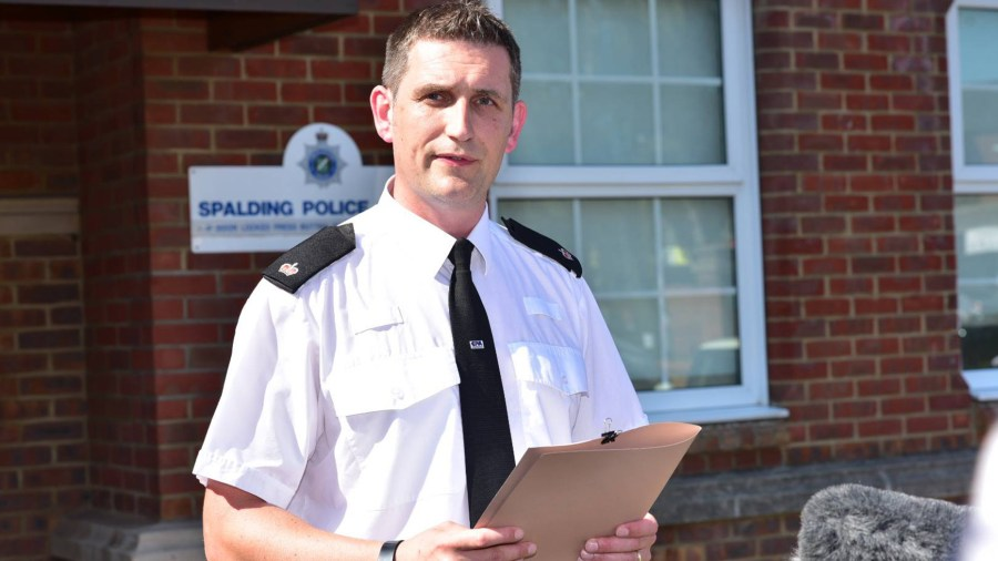 Superintendent Paul Timmins of Lincolnshire Police: Photo: Steve Smailes for The Lincolnite