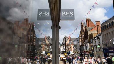 BHS on Lincoln High Street officially closed its doors on August 6. Photo: Steve Smailes for The Lincolnite