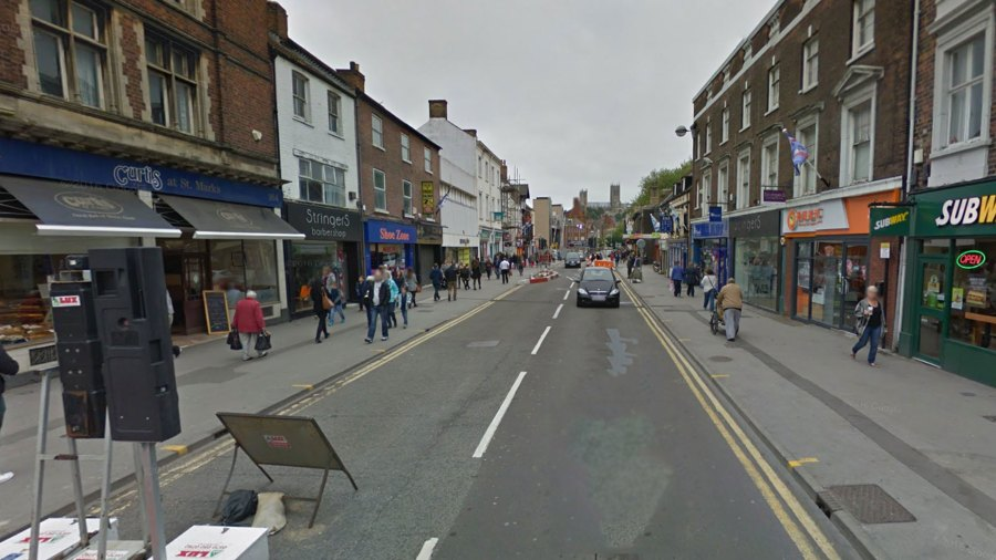High Street will be closed to traffic between St Mary's Street and Tentercroft Street. Photo: Google Street View