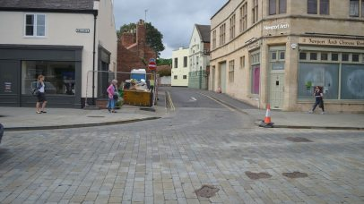 The road will be closed from Newport Arch