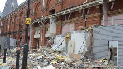 The building will be reconstructed and extended. Photo Sarah Harrison-Barker for The Lincolnite