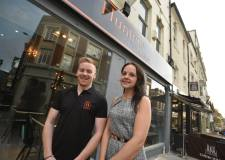 Project manager Hayley Henshall and General Manager Jamie Parnell. Photo: Steve Smailes for The Lincolnite