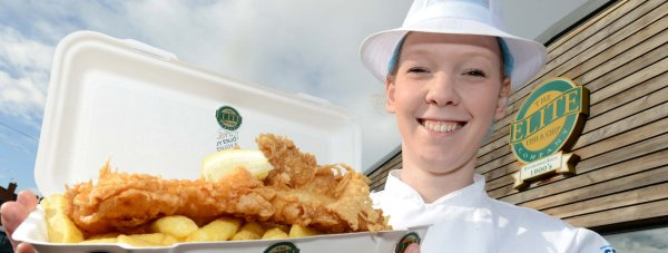Elite fish and chips in Lincoln has been placed in the UK top 10 best fish and chip restaurants.