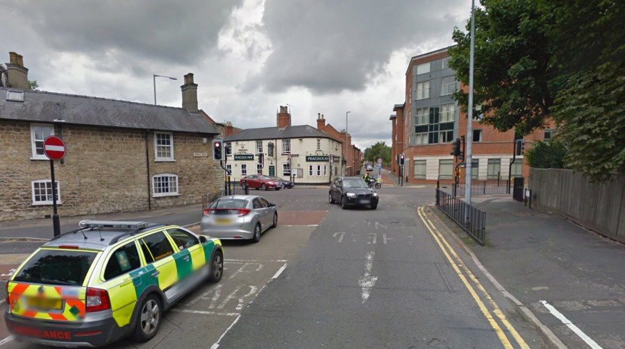 The first 300m of Greetwell Road and the junction with Wragby Road will be resurfaced overnight. Photo: Google