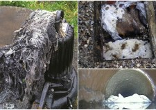 Around 21 tonnes of flushed wipes are responsible for blockages in Lincoln.