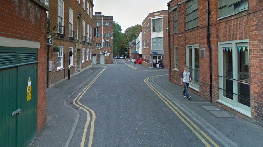 The assault happened on Park Street in Lincoln. Photo: Google