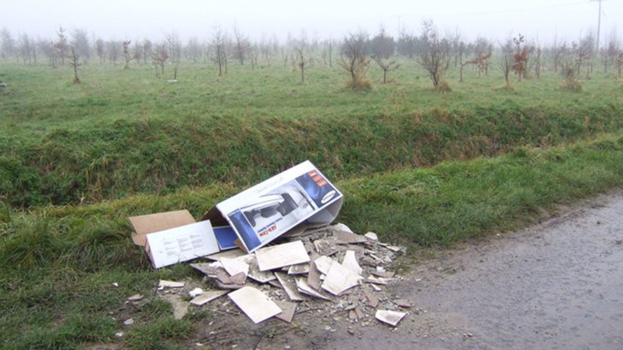 There is not a fixed penalty of £400 if you are caught fly tipping in North Kesteven. Photo: Jonathan Billinger