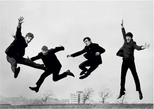It will be a long time before I'm able to do my Fab Four leaping exercises.