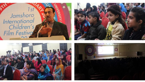 5,000 Attends – International Children's Film Festival, Jamshoro, Sindh