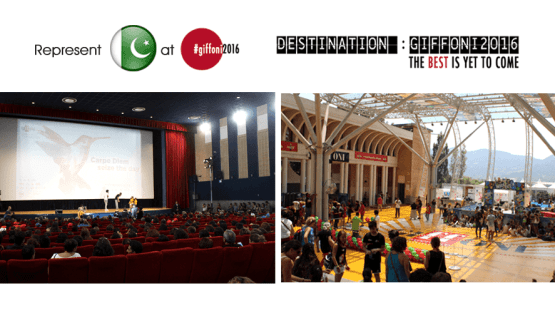 Represent Pakistan as Young Jury in Giffoni Italy