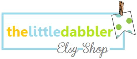 thelittledabbler Etsy Shop new header
